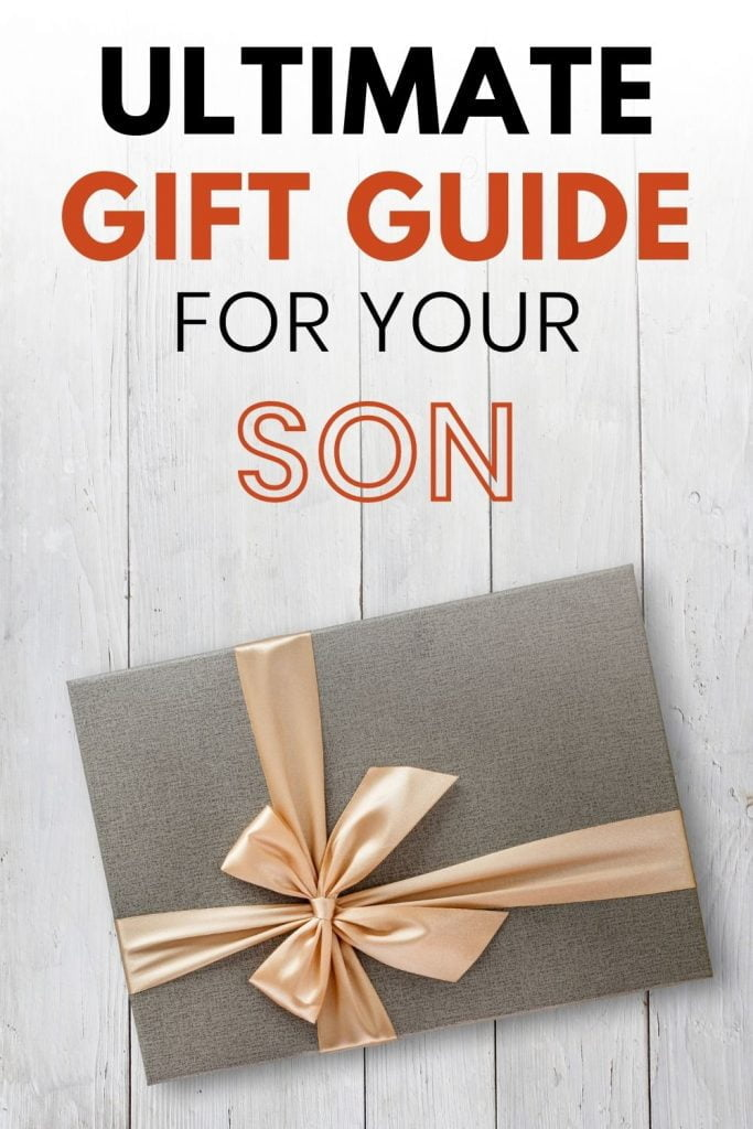 Gift ideas for sons