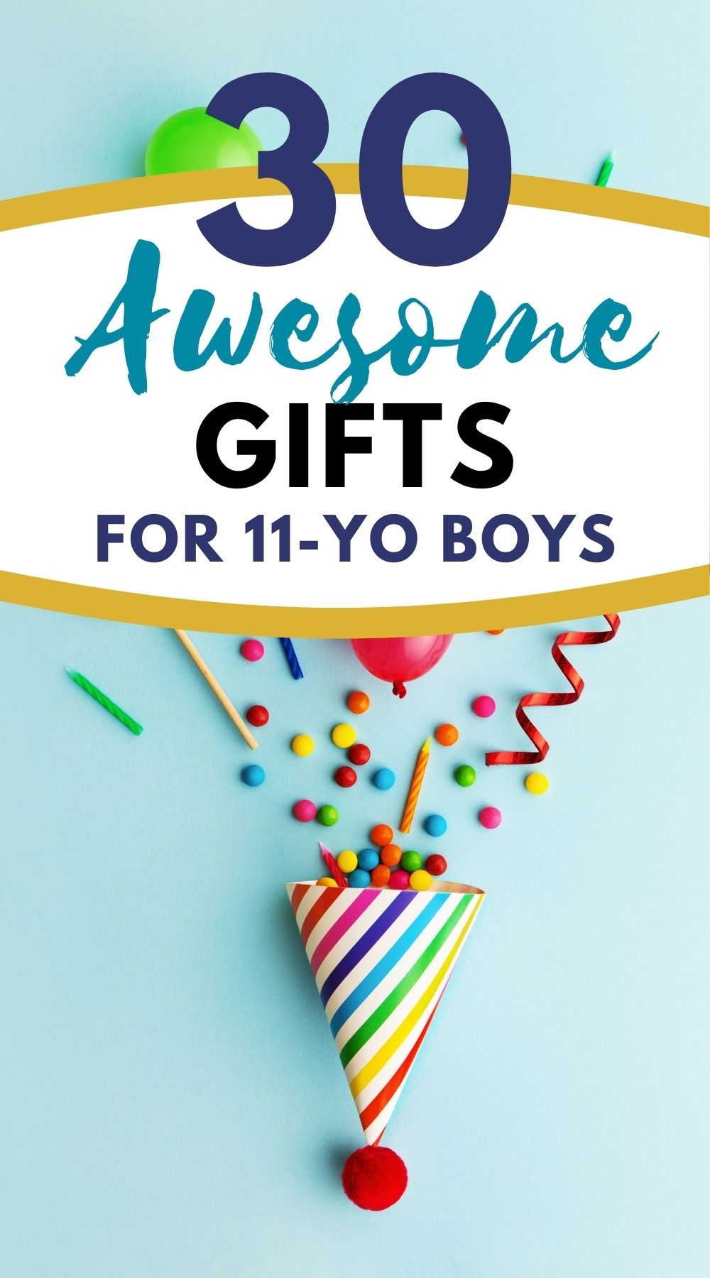 Gift ideas for 11-year-old boys
