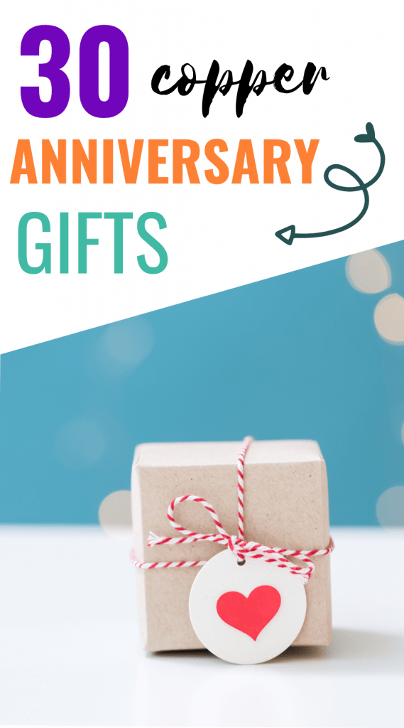7th anniversary copper gifts for him