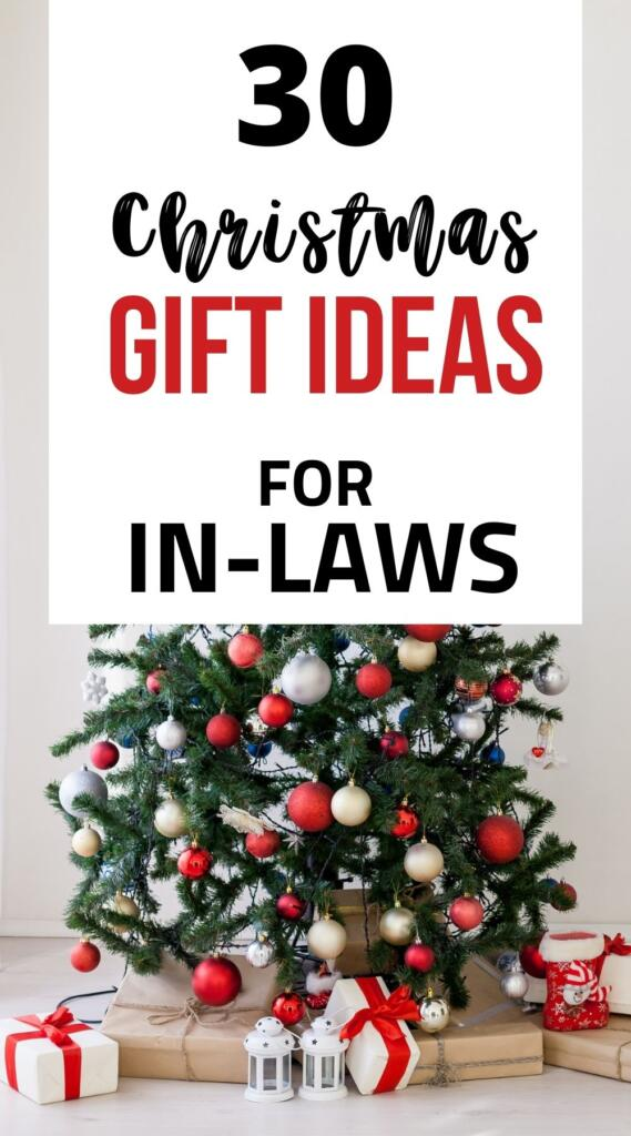 Christmas gifts for in-laws