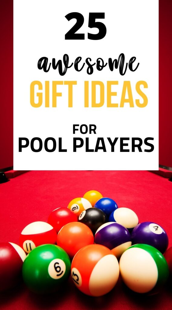 gifts for pool players